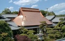 キラキラ光る大屋根